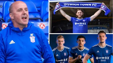 Ipswich Town manager Paul Cook (left) has much to do in the transfer market.