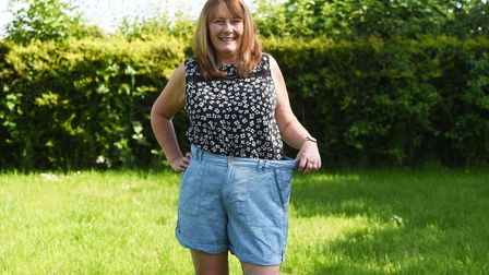Aelein Messinger has lost 3 stone since coming out of lockdown, with slimming world Picture: CHARLO