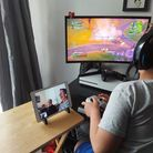 Phillip and Penny Christey have been learning to play Fortnite through Facetime with their grandchildren.