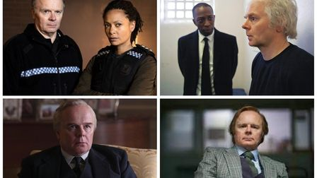 Jason Watkins in Line of Duty,The Lost Honour of Christopher Jefferies, Des and as Harold Wilson in The Crown.