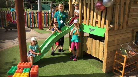 East Bergholt Young Explorers has expanded at the Cherry Blossom Children's Centre in Hadleigh Road