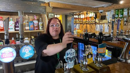 Michelle Holbrook, new manager at the Royal Standard