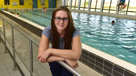 Paralympian Jessica Jane Applegate opens the newly refurbished Phoenix pool and Gym in Bradwell.