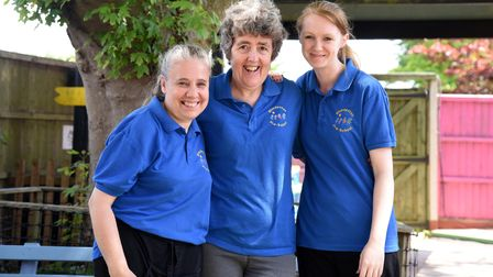 Diane is retiring after 30 years at BLundeston Pre-School Picture: CHARLOTTE BOND