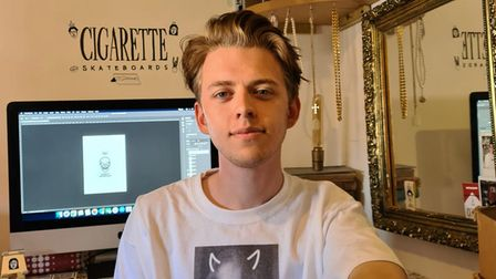 Ross Woodrow is the owner of Cigarettes Skateboards.