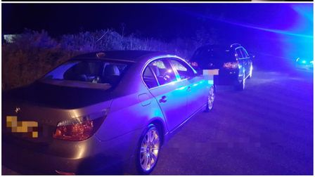 A hattrick of rule-flouting drivers were caughtwith nolicence or insurance by police patrolling the A11.