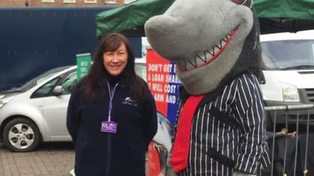 Fenland Council's purple operational vehicles will get a makeover as they are clad in a new loan shark awareness message