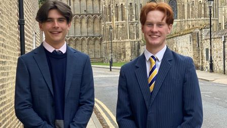 King's Ely students Billy Pintoand Tom Bateman have secured places on the National Youth Theatre (NYT) programme.