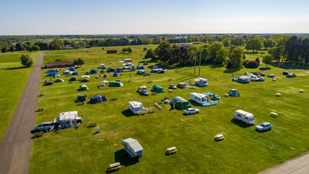 You can take your campervan for a break at Trinity Park, near Ipswich