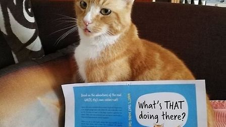 'What's That Doing There', a book about Garfield's fictional adventures, was published in January 2019.