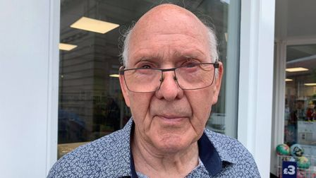 Danny Breeze, 81 from Spixworth.