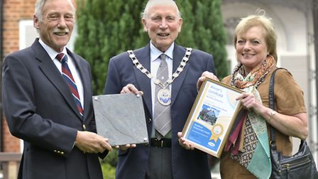 Winners of Broadland District Council's Design and Enhancement Awards. Pictured: Enhancement Award w
