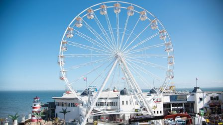 A new observation wheel has arrived on Clacton Pier ready for the summer