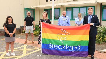 Breckland council's chairmanRoy Brame