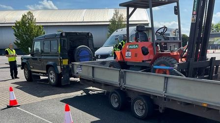 Cambridgeshire Constabulary dealt with 27 untaxed vehicles across the county in just one day