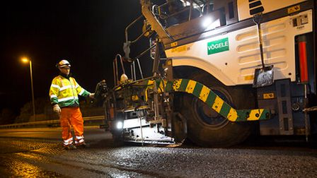 Highways England are investing £2218m in East of England roads