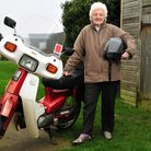 Dot Kent from Seething (80) has rasied thousands of pounds fgor the village of Seething over the yea
