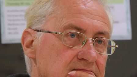 Norfolk County Council leader George Nobbs.