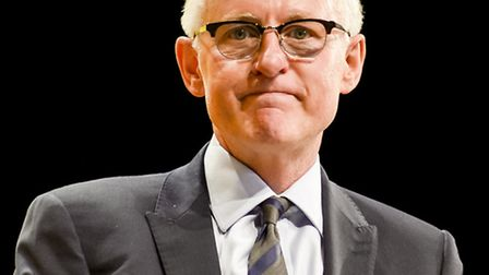 Norman Lamb speaking at the Liberal Democrats annual conference at Bournemouth International Centre.