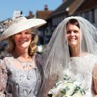 Farleigh Hospice charity shop in Great Dunmow selling wedding items