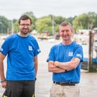 Matthew Read and Simon Scammell of Suffolk Sails, have been recognised for their efforts in making P