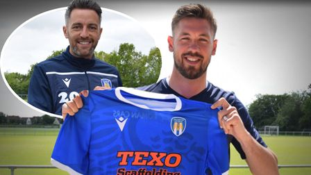 Luke Chambers and Cole Skuse will both be at Colchester United next season