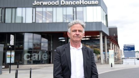 Brendan Keaney DanceEast chief executive has been made OBE in the Queens honours list Picture: CHAR