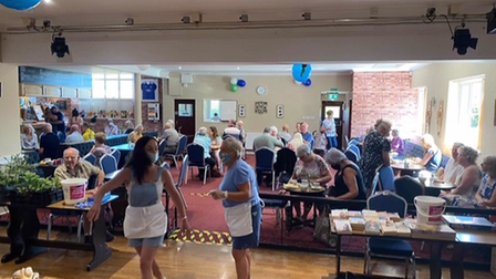 Toftwood Social club charity coffee morning
