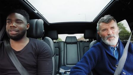 Micah Richards and Roy Keane took a road trip ahead of Euro 2020