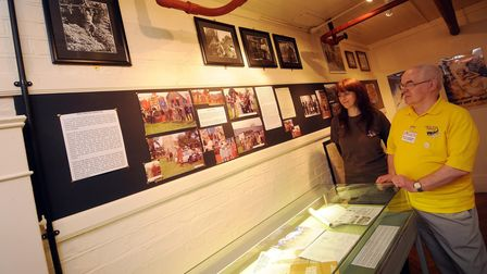 CAPTION; Photos of the newly refurbished and extended Dad's Army Museum at the Guildhall in Thetford