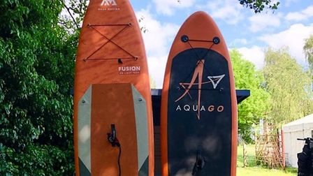 These two boards were stolen fromNorwich Paddleboard Hire last Wednesday.