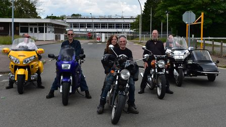 A classic motorcycle convoy in aid of the air ambulance will take place later this month