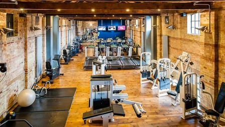 The gym and fitness studio at the Varsity Hotel in Cambridge