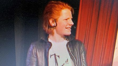 Ed Sheeran aged 15 in the video of a production of Grease at Thomas Mills High School in Framlingham