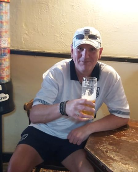 Drinkers at the Royal Standard in Dereham roared on England with a full carvery to keep them going.