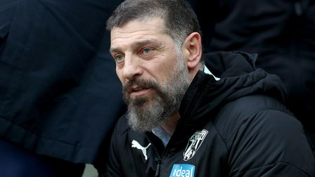File photo dated 25-01-2020 of West Bromwich Albion manager Slaven Bilic.