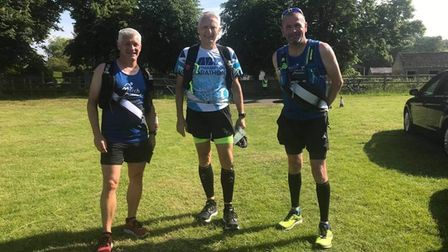 Jason, Mike and Andy 20 miler