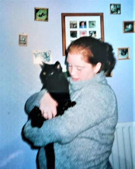 Becky and Sooty, both aged 18.