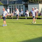 Action from Devon Bowls Section 3 - Two wood competition held recently at Budleigh Bowls Cricket Field Lane.