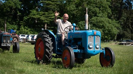 Tractors and classic cars gathered at Euston Hall for a special rally to replace this year's Euston