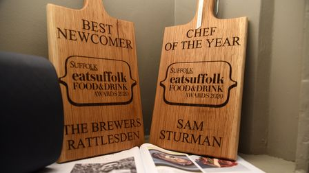 The Brewers in Rattlesden took Best Newcomer and Chef of the Year in the 2020 Eat Suffolk Food and Drink Awards