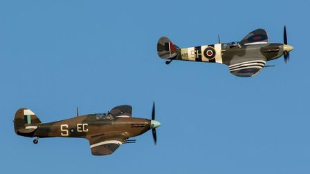 The Battle of Britain Memorial Flight will also star at the event in Clacton