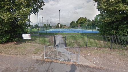 It happened in the recreation ground off Commercial Road in Dereham.