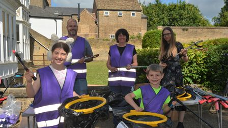 Ely Litter Pickers hit the streets on Saturday, July 12.