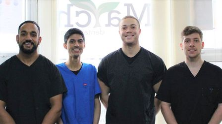 Some of the team at March Dental Surgery