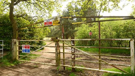 Entrance to Bawsey Pits. Picture: Ian Burt