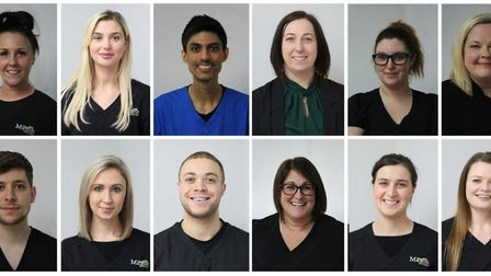 The team at March Dental Surgery