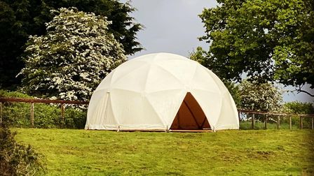 Oak Lodge Glamping on Thetford Road,Northwold, has received planning permission for two years