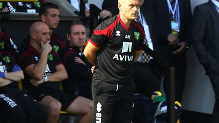 Norwich City manager Alex Neil is looking forward to a new challenge against Leicester City. Picture