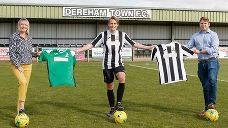 Dereham Town will give its shirt sponsorship to the Daisy Programme.